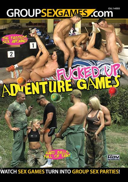 Fucked Up Adventure Games Box Cover