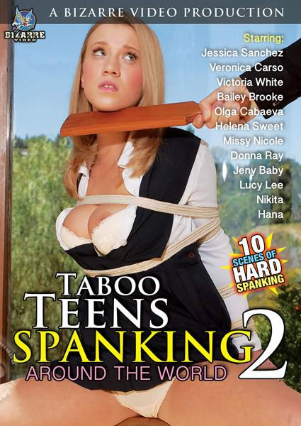 Taboo Teens Spanking 2 - Around The World Box Cover