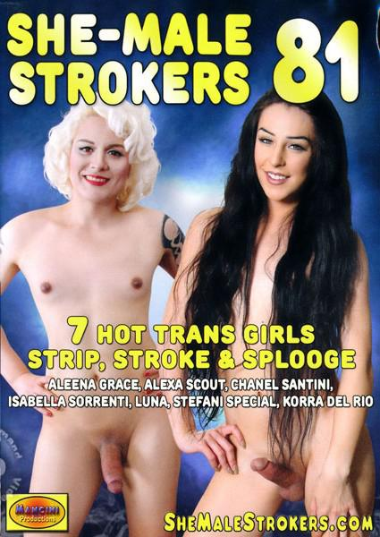 She-Male Strokers 81 Box Cover