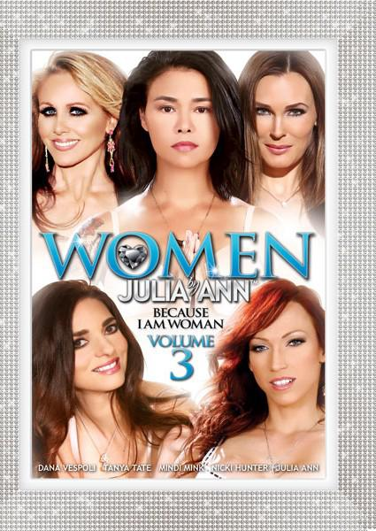 Women By Julia Ann Volume 3 - Because I Am Woman Box Cover