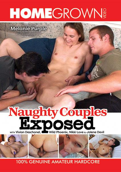 Naughty Couples Exposed Box Cover