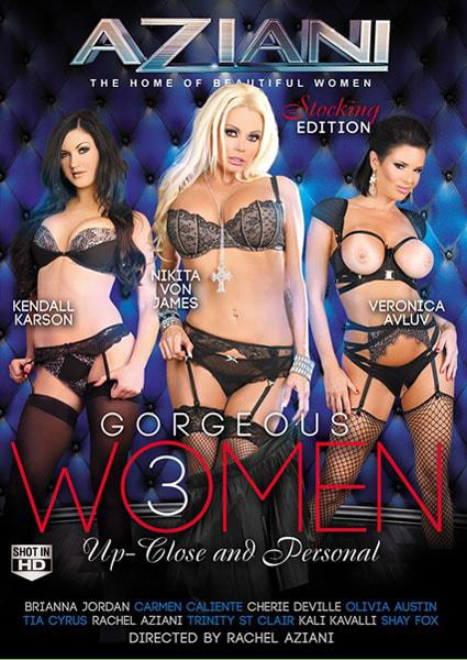 Gorgeous Women Up-Close And Personal 3 Box Cover