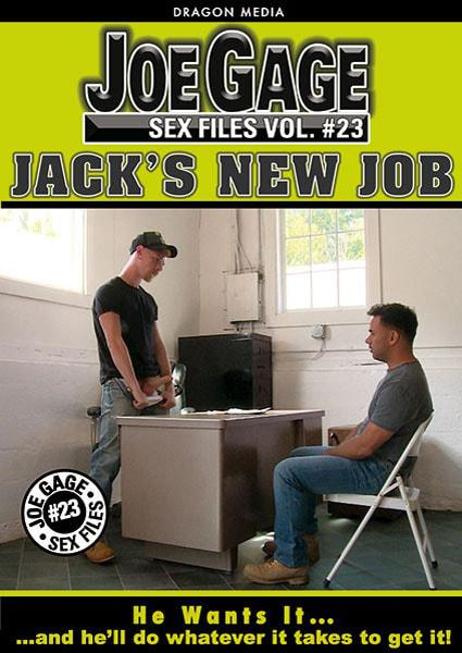 Joe Gage Sex Files 23 Jack's New Job Box Cover