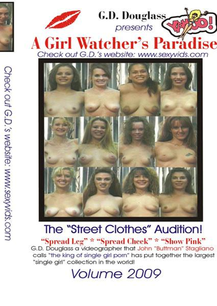 A Girl Watcher's Paradise - The Street Clothes Audition - 2009 Box Cover