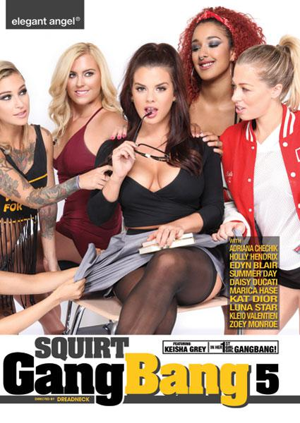 Squirt Gangbang 5 Box Cover