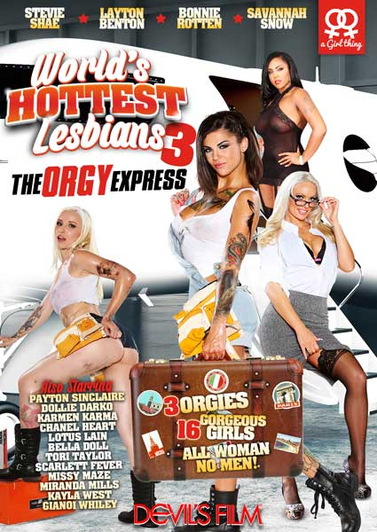 World's Hottest Lesbians 3 Box Cover