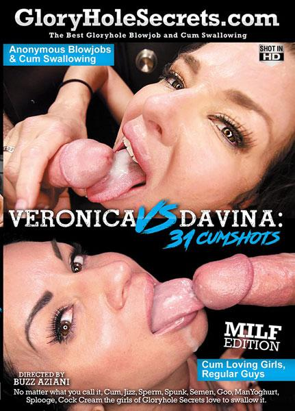 Veronica vs Davina: 31 Cumshots Milf Edition Box Cover