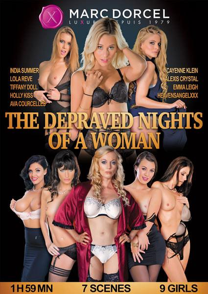 The Depraved Nights Of A Woman (English) Box Cover