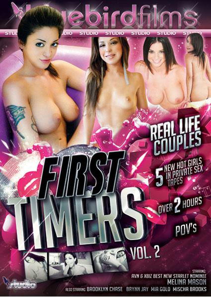First Timers Vol. 2 Box Cover