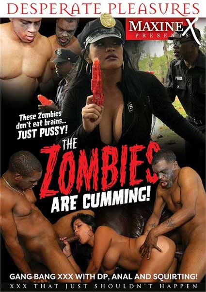 The Zombies Are Cumming Box Cover