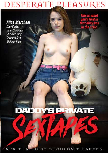 Daddy's Private Sex Tapes Box Cover