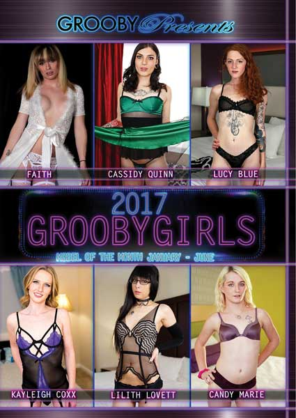 Grooby Girls Model Of The Month 2017 - January To June Box Cover