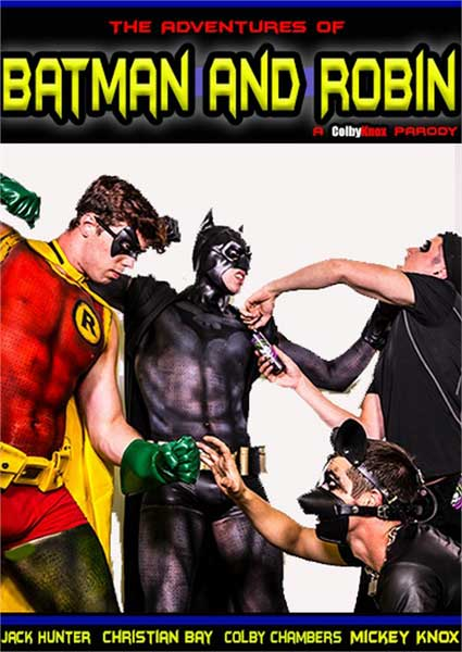 The Adventures Of Batman And Robin - A Colby Knox Parody Box Cover