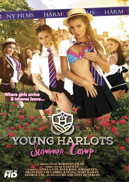 Young Harlots - Summer Camp Box Cover