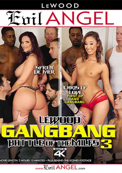 LeWood Gangbang - Battle Of The MILFs 3 Box Cover