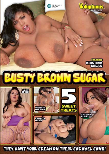 Busty Brown Sugar Box Cover