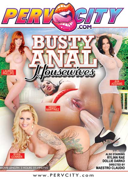 Busty Anal Housewives Box Cover