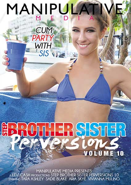 Step Brother Sister Perversions Volume 10 Box Cover