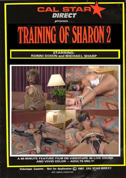Training Of Sharon 2 Box Cover
