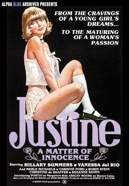 Justine - A Matter of Innocence Box Cover