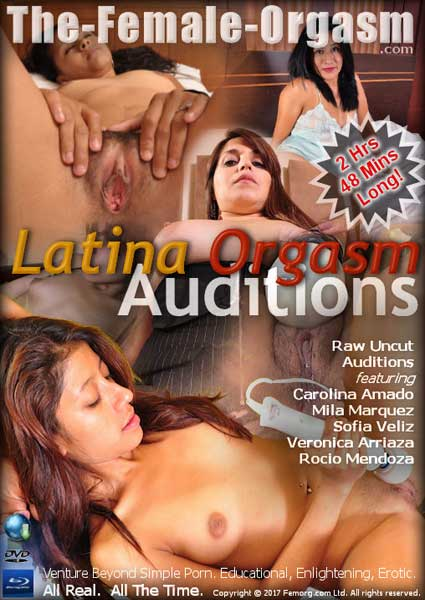 Latina Orgasm Auditions Box Cover