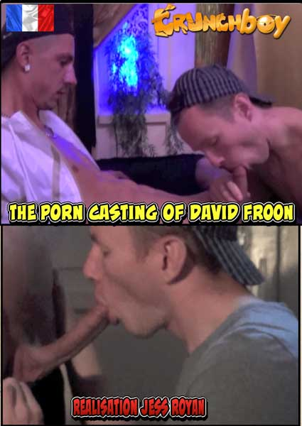 The Porn Casting Of David Froon Box Cover