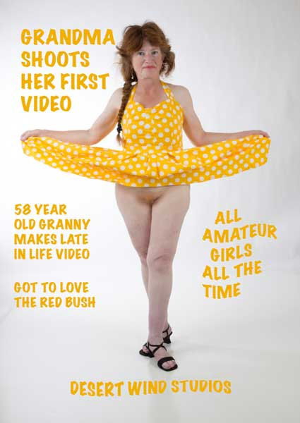 Grandma Shoots Her First Video Box Cover