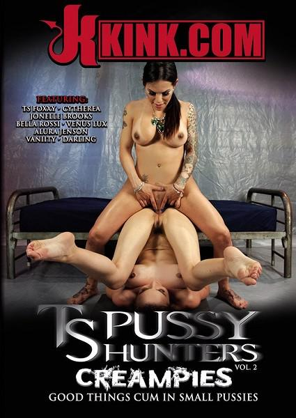 TS Pussy Hunters Vol. 2 - Creampies Box Cover