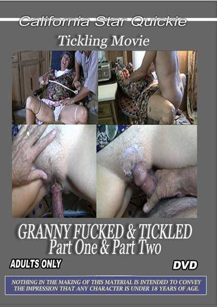 Granny Fucked & Tickled Part One & Part Two Box Cover