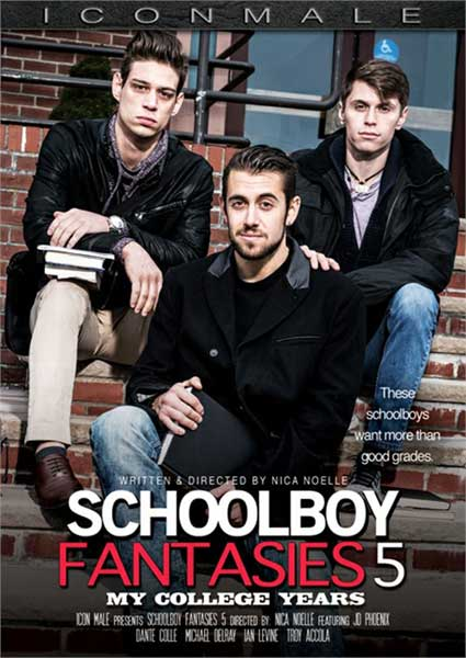 Schoolboy Fantasies 5 : My College Years Box Cover