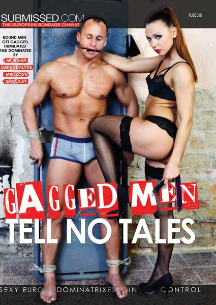 Gagged Men Tell No Tales Box Cover