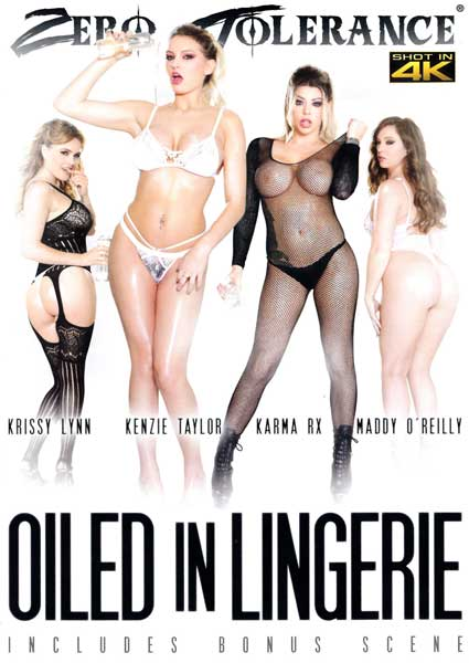 Oiled In Lingerie Box Cover