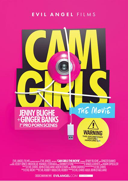 Cam Girls - The Movie Box Cover