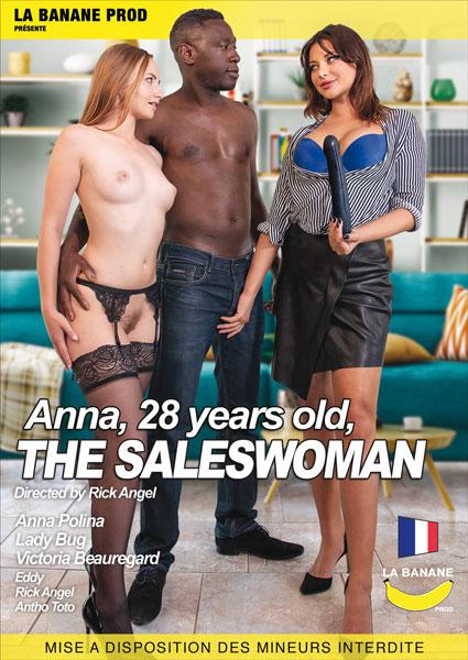 Anna, 28 Years Old, The Saleswoman (French) Box Cover