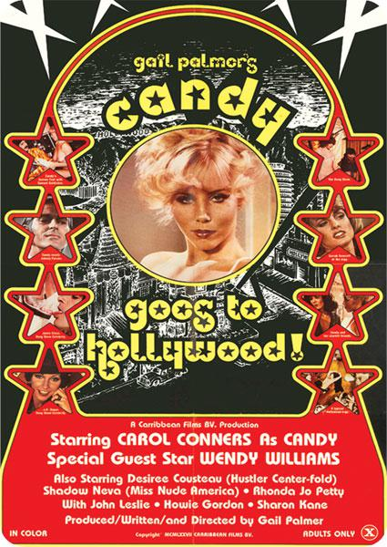 Candy Goes To Hollywood Box Cover