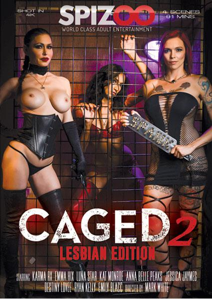 Caged 2 - Lesbian Edition Box Cover