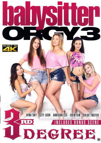 Babysitter Orgy 3 Box Cover