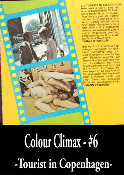 Colour Climax 6 - Tourist In Copenhagen Box Cover