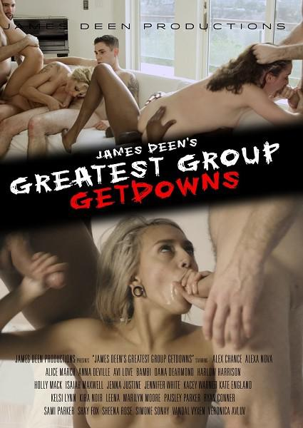 James Deen's Greatest Group Getdowns Box Cover