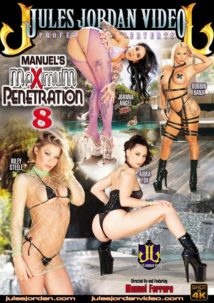 Manuel's Maximum Penetration 8 Box Cover