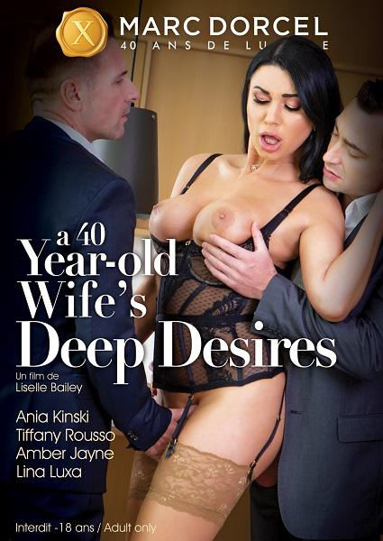 A 40 Year-Old Wife's Deep Desires (English) Box Cover