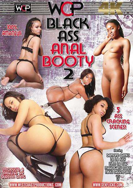 Black Ass Anal Booty 2 Box Cover