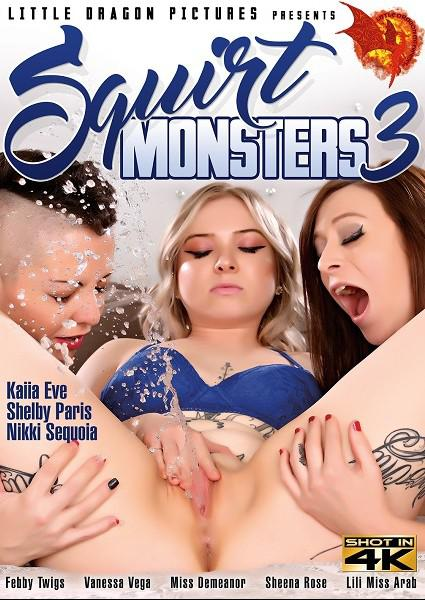 Squirt Monsters 3 Box Cover