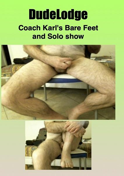 Coach Karl's Bare Feet and Solo Show Box Cover