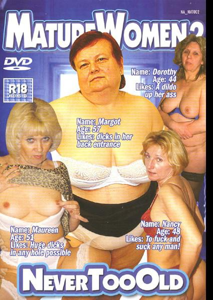 Mature Women 2 Box Cover