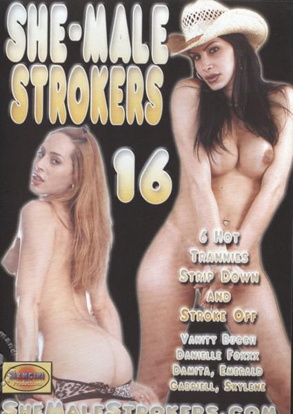 She-Male Strokers 16 Box Cover