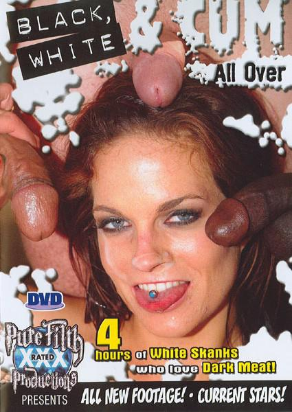 Black, White & Cum All Over Box Cover