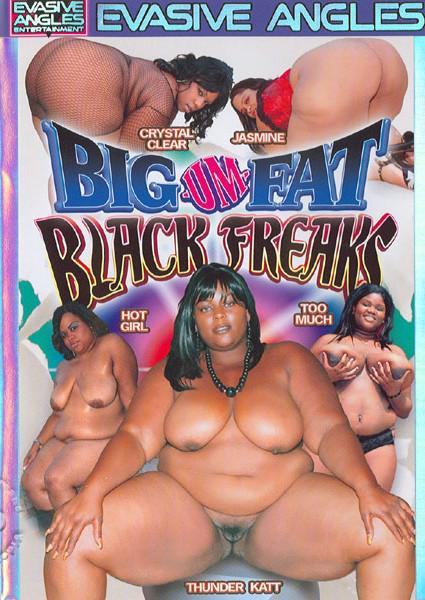 Big-Um-Fat Black Freaks Box Cover