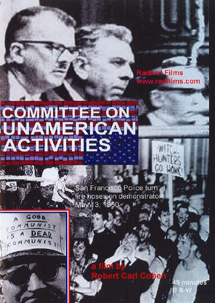 Committee On Unamerican Activities Box Cover