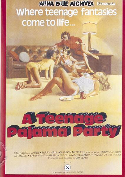 A Teenage Pajama Party Box Cover